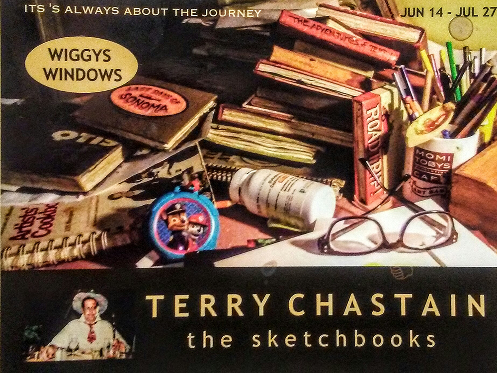 Terry Chastain: The Sketchbooks